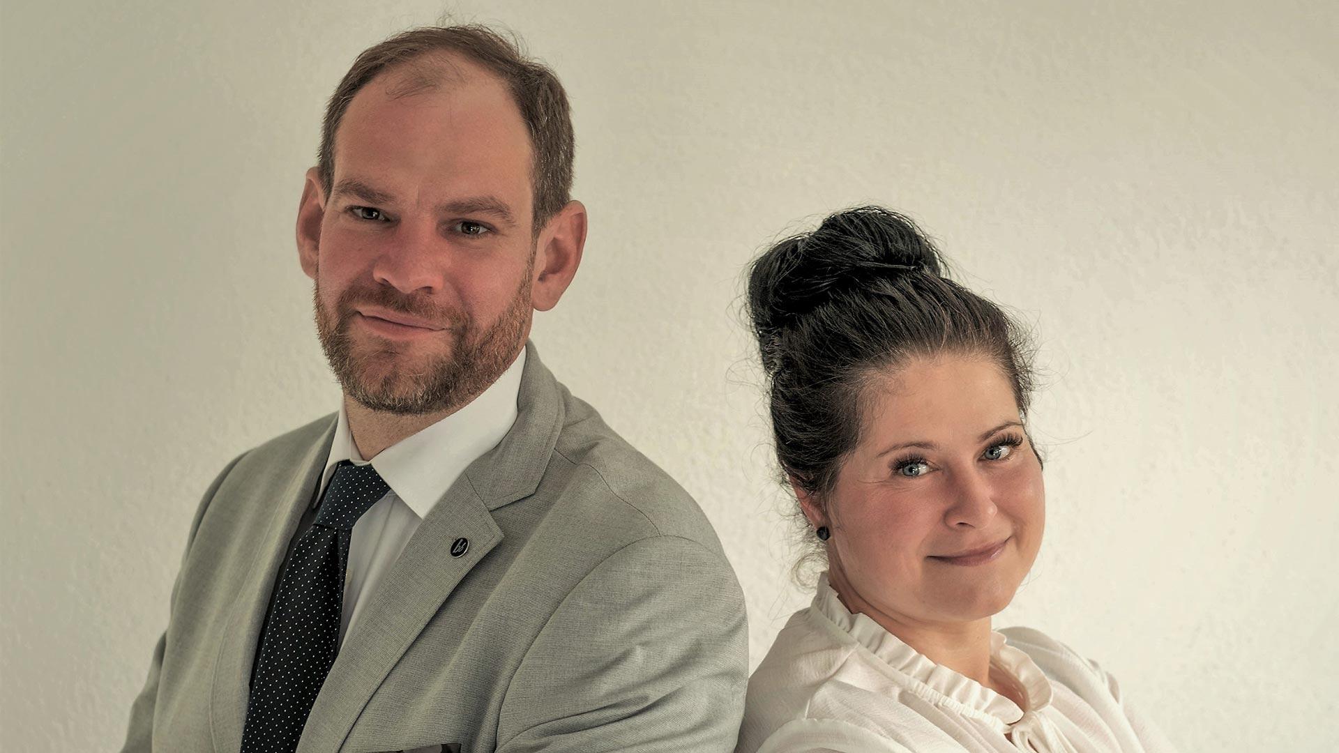 Arnd Rößner und Dunja Borchardt-Rößner CEO / Founder